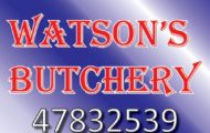 watsons butchery
